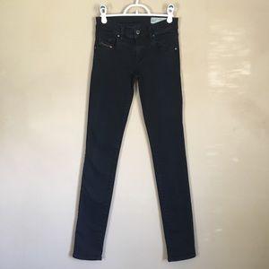 Diesel Groupee Super Slim Skinny Low Waist Jeans
